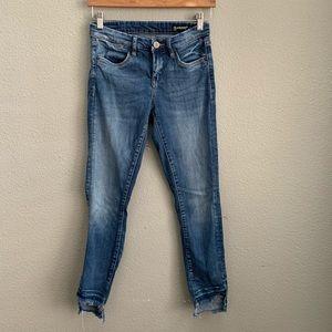 Blank NYC raw edge intro skinny jeans